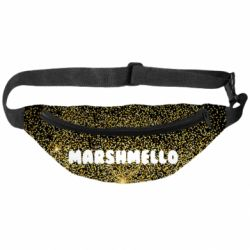 3D сумка-бананка Marshmello Dj and gold - FatLine