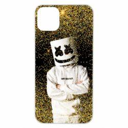 Чехол для iPhone 11 Pro Max Marshmello Dj and gold - FatLine
