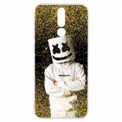 Чехол для Huawei Mate 10 Lite Marshmello Dj and gold - FatLine