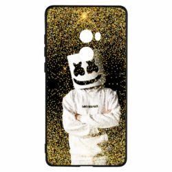 Чехол для Xiaomi Mi Mix 2 Marshmello Dj and gold - FatLine