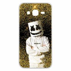Чехол для Samsung J5 2015 Marshmello Dj and gold - FatLine