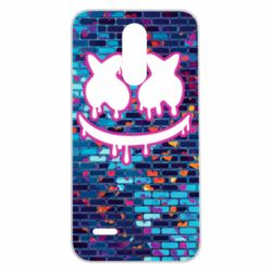 Чехол для LG K7 2017 Marshmello logo and color background - FatLine