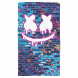 Полотенце Marshmello logo and color background - FatLine