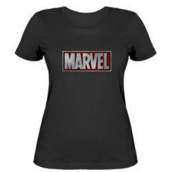 Женская футболка Marvel 3D - FatLine