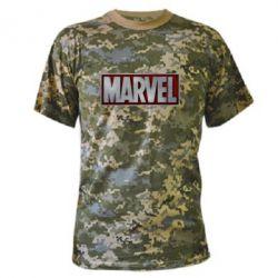 Камуфляжная футболка Marvel 3D - FatLine