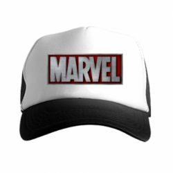 Кепка-тракер Marvel 3D - FatLine