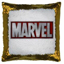 Подушка-хамелеон Marvel 3D