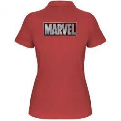 Женская футболка поло Marvel 3D - FatLine