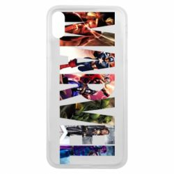 Чохол для iPhone Xs Max Marvel Avengers