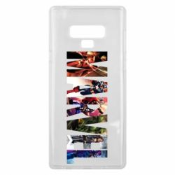 Чохол для Samsung Note 9 Marvel Avengers