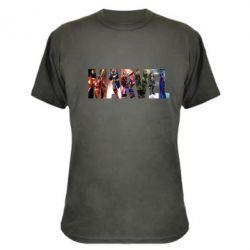 Камуфляжная футболка Marvel Avengers - FatLine