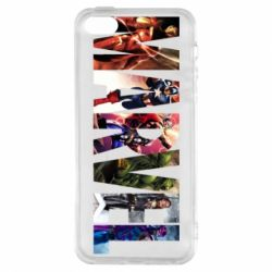Чохол для iphone 5/5S/SE Marvel Avengers