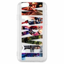 Чохол для iPhone 6/6S Marvel Avengers