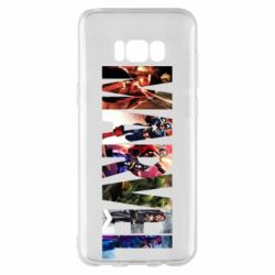 Чохол для Samsung S8+ Marvel Avengers