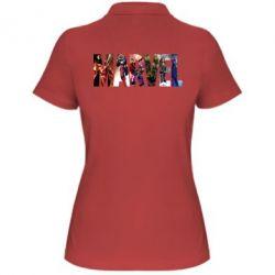Женская футболка поло Marvel Avengers - FatLine