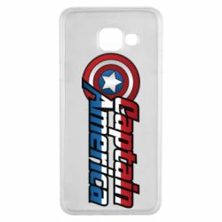 Чохол для Samsung A3 2016 Marvel Captain America