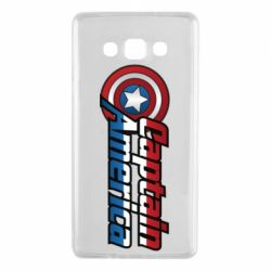 Чохол для Samsung A7 2015 Marvel Captain America