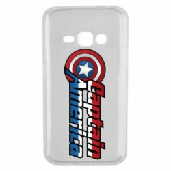 Чохол для Samsung J1 2016 Marvel Captain America