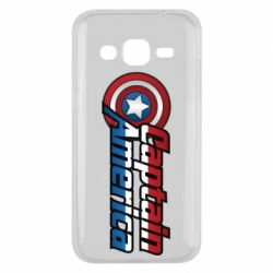 Чохол для Samsung J2 2015 Marvel Captain America