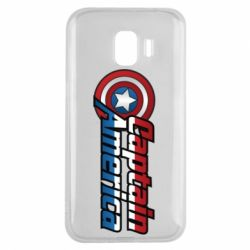 Чохол для Samsung J2 2018 Marvel Captain America