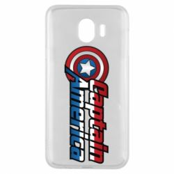 Чохол для Samsung J4 Marvel Captain America