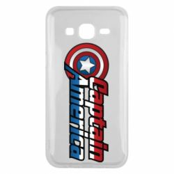 Чохол для Samsung J5 2015 Marvel Captain America