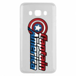 Чехол для Samsung J5 2016 Marvel Captain America