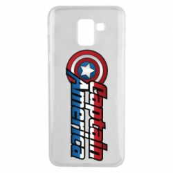 Чохол для Samsung J6 Marvel Captain America