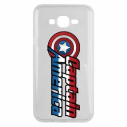 Чохол для Samsung J7 2015 Marvel Captain America