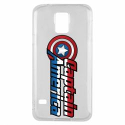 Чохол для Samsung S5 Marvel Captain America