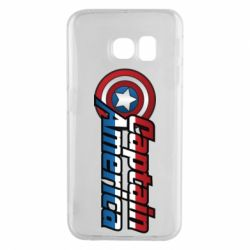 Чохол для Samsung S6 EDGE Marvel Captain America