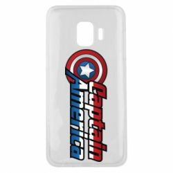 Чохол для Samsung J2 Core Marvel Captain America