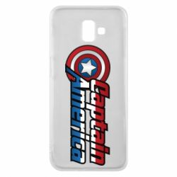Чехол для Samsung J6 Plus 2018 Marvel Captain America