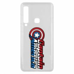 Чехол для Samsung A9 2018 Marvel Captain America