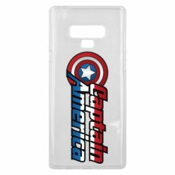 Чохол для Samsung Note 9 Marvel Captain America
