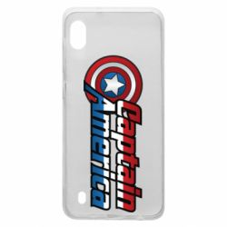 Чохол для Samsung A10 Marvel Captain America