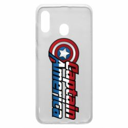 Чохол для Samsung A20 Marvel Captain America