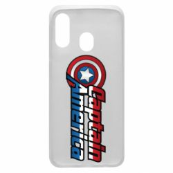 Чохол для Samsung A40 Marvel Captain America