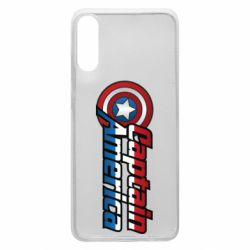 Чохол для Samsung A70 Marvel Captain America