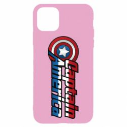 Чохол для iPhone 11 Marvel Captain America