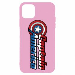 Чохол для iPhone 11 Pro Marvel Captain America