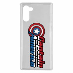 Чохол для Samsung Note 10 Marvel Captain America