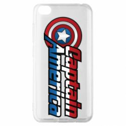 Чехол для Xiaomi Redmi Go Marvel Captain America