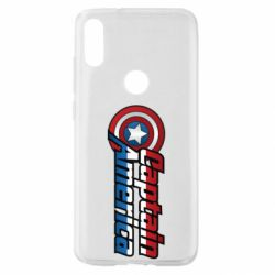 Чохол для Xiaomi Mi Play Marvel Captain America