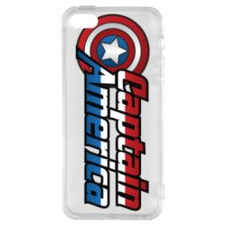 Чехол для iPhone5/5S/SE Marvel Captain America