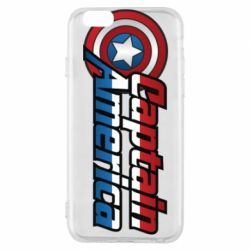 Чехол для iPhone 6/6S Marvel Captain America