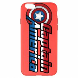 Чохол для iPhone 6 Plus/6S Plus Marvel Captain America