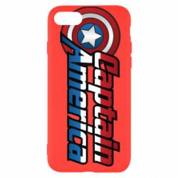 Чохол для iPhone 7 Marvel Captain America