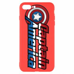 Чохол для iPhone 8 Plus Marvel Captain America