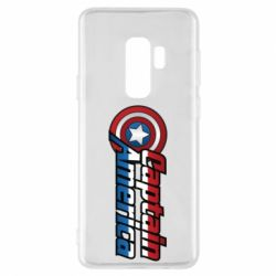 Чехол для Samsung S9+ Marvel Captain America